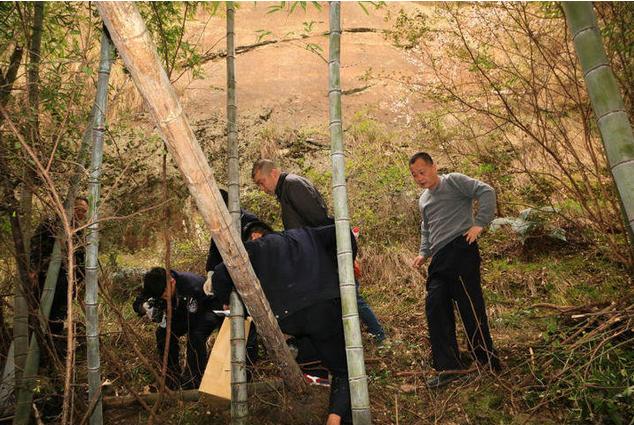男子绑架杀人后逃入丽水深山 六个月后成白骨