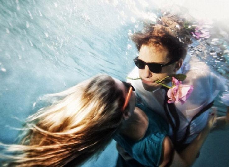拍水下唯美婚纱照注意事项