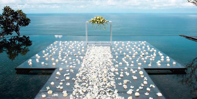 如何用同样的预算在海外办一场梦寐以求的婚礼