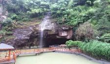 青田有小桥流水,山洞瀑布的农家乐!