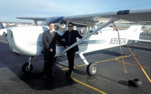 以后可在温州报考飞机驾照了