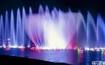 """乐清中心公园音乐喷泉巨资""""整容""""后,太震撼了!"""