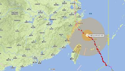 市防局将台风应急响应等级提升为Ⅱ级