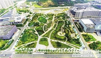 文化公园提升项目即将完工